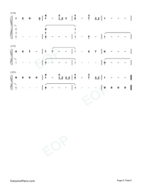 Conversations in the Dark-John Legend-Numbered-Musical-Notation-Preview-6