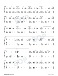 Letter from the Wind-Find Yourself OP-Numbered-Musical-Notation-Preview-2