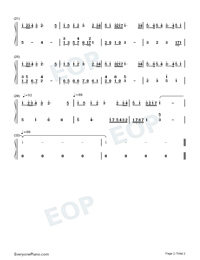 The British Grenadiers-Numbered-Musical-Notation-Preview-2