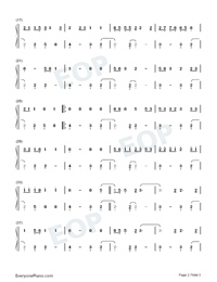 Talk-Khalid Numbered Musical Notation Preview 2