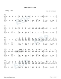 Imaginary Kiss-Shirfine-Numbered-Musical-Notation-Preview-1