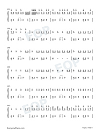 Imaginary Kiss-Shirfine-Numbered-Musical-Notation-Preview-2