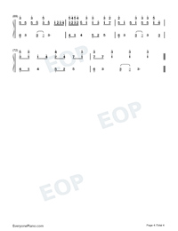 Imaginary Kiss-Shirfine-Numbered-Musical-Notation-Preview-4
