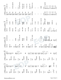Garasu no Hanazono-Love Live OST-Numbered-Musical-Notation-Preview-4