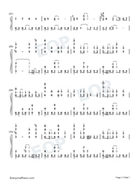 Sigh A Depressive Lone Numbered Musical Notation Preview 2