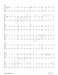 Kings Queens-Ava Max-Numbered-Musical-Notation-Preview-2