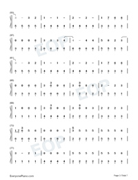 Kings Queens-Ava Max-Numbered-Musical-Notation-Preview-3