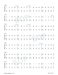 Kings Queens-Ava Max-Numbered-Musical-Notation-Preview-5