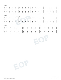 Kings Queens-Ava Max-Numbered-Musical-Notation-Preview-7