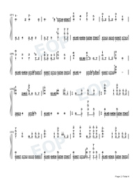 Eutopia-Yoohsic Roomz-Numbered-Musical-Notation-Preview-2