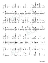 Eutopia-Yoohsic Roomz-Numbered-Musical-Notation-Preview-3