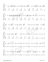 Tequila-Dan Shay-Numbered-Musical-Notation-Preview-2
