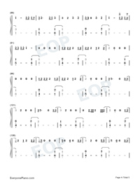 Tequila-Dan Shay-Numbered-Musical-Notation-Preview-4