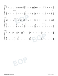 Tequila-Dan Shay-Numbered-Musical-Notation-Preview-5