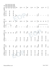 Hold Me While You Wait-Lewis Capaldi-Numbered-Musical-Notation-Preview-4