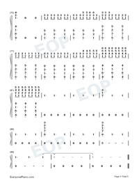 Hold Me While You Wait-Lewis Capaldi-Numbered-Musical-Notation-Preview-5