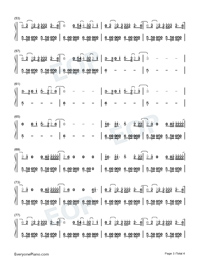 Feel Me-Selena Gomez-Numbered-Musical-Notation-Preview-3