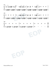 Feel Me-Selena Gomez-Numbered-Musical-Notation-Preview-4