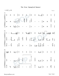 The Star-Spangled Banner-Super Bowl LIV-Numbered-Musical-Notation-Preview-1