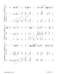 The Star-Spangled Banner-Super Bowl LIV-Numbered-Musical-Notation-Preview-2