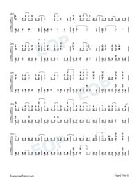 Land of Ice and Snow-Skate Into Love Theme-Numbered-Musical-Notation-Preview-2