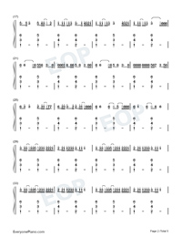 Boyfriend-Mabel-Numbered-Musical-Notation-Preview-2
