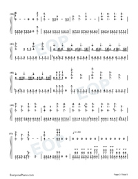Like You-Lala Hsu Numbered Musical Notation Preview 3