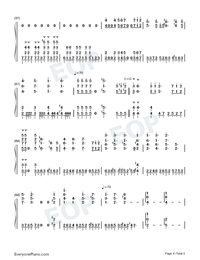 Like You-Lala Hsu Numbered Musical Notation Preview 4