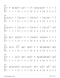 Nobody but You-Blake Shelton ft Gwen Stefani-Numbered-Musical-Notation-Preview-2