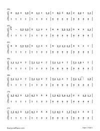Nobody but You-Blake Shelton ft Gwen Stefani-Numbered-Musical-Notation-Preview-3