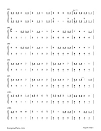 Nobody but You-Blake Shelton ft Gwen Stefani-Numbered-Musical-Notation-Preview-4