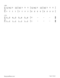 Nobody but You-Blake Shelton ft Gwen Stefani-Numbered-Musical-Notation-Preview-5