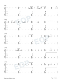 Six Feet Apart-Luke Combs-Numbered-Musical-Notation-Preview-6