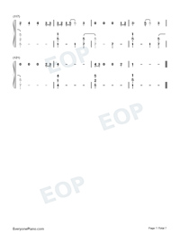 Six Feet Apart-Luke Combs-Numbered-Musical-Notation-Preview-7