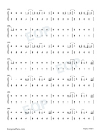Fine Line-Harry Styles-Numbered-Musical-Notation-Preview-2