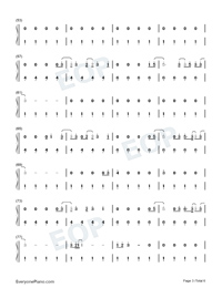 Fine Line-Harry Styles-Numbered-Musical-Notation-Preview-3