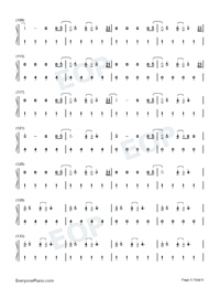 Fine Line-Harry Styles-Numbered-Musical-Notation-Preview-5