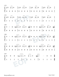 Fine Line-Harry Styles-Numbered-Musical-Notation-Preview-6