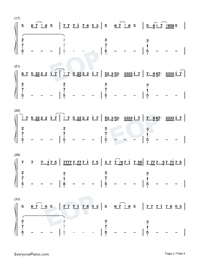 Together-Music OST-Sia-Numbered-Musical-Notation-Preview-2