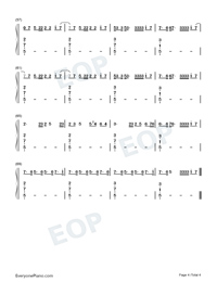 Together-Music OST-Sia-Numbered-Musical-Notation-Preview-4