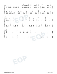 Flower-Crash Landing on You OST-Numbered-Musical-Notation-Preview-4