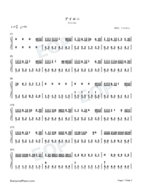 Aironi-Irony-Numbered-Musical-Notation-Preview-1
