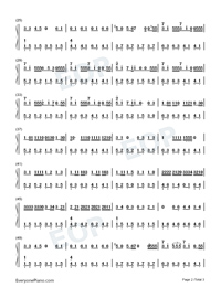Aironi-Irony-Numbered-Musical-Notation-Preview-2
