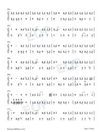 Mojito-Full Version-Numbered-Musical-Notation-Preview-3