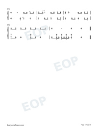 Mojito-Full Version-Numbered-Musical-Notation-Preview-4
