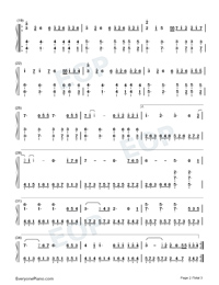 Wonderful U-Easy Version-Numbered-Musical-Notation-Preview-2