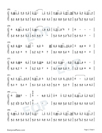 Dream of Xizhou-Numbered-Musical-Notation-Preview-2