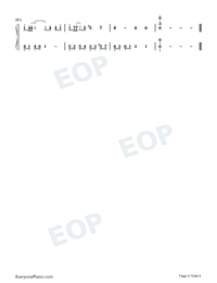 Dream of Xizhou-Numbered-Musical-Notation-Preview-4