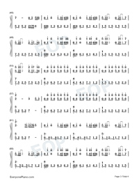 Cocoon Break-Soul Land Theme-Numbered-Musical-Notation-Preview-3