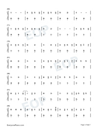 Savage Love-Savage Love Laxed – Siren Beat-Numbered-Musical-Notation-Preview-3